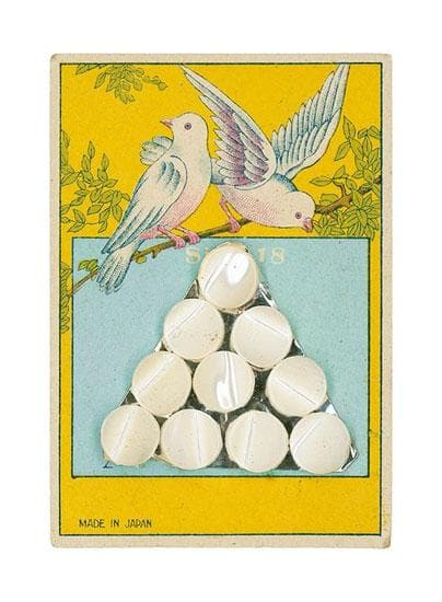 Found Art: Pearl Buttons artwork by Peter Blake