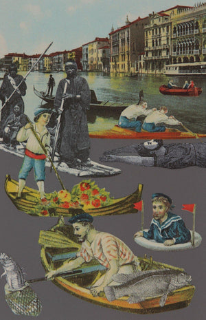 Venice Suite Fishing artwork by Peter Blake