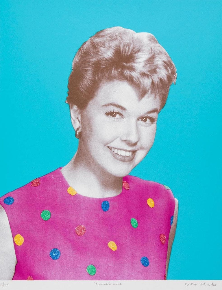 Secret Love - Doris Day from Love Portfolio artwork by Peter Blake