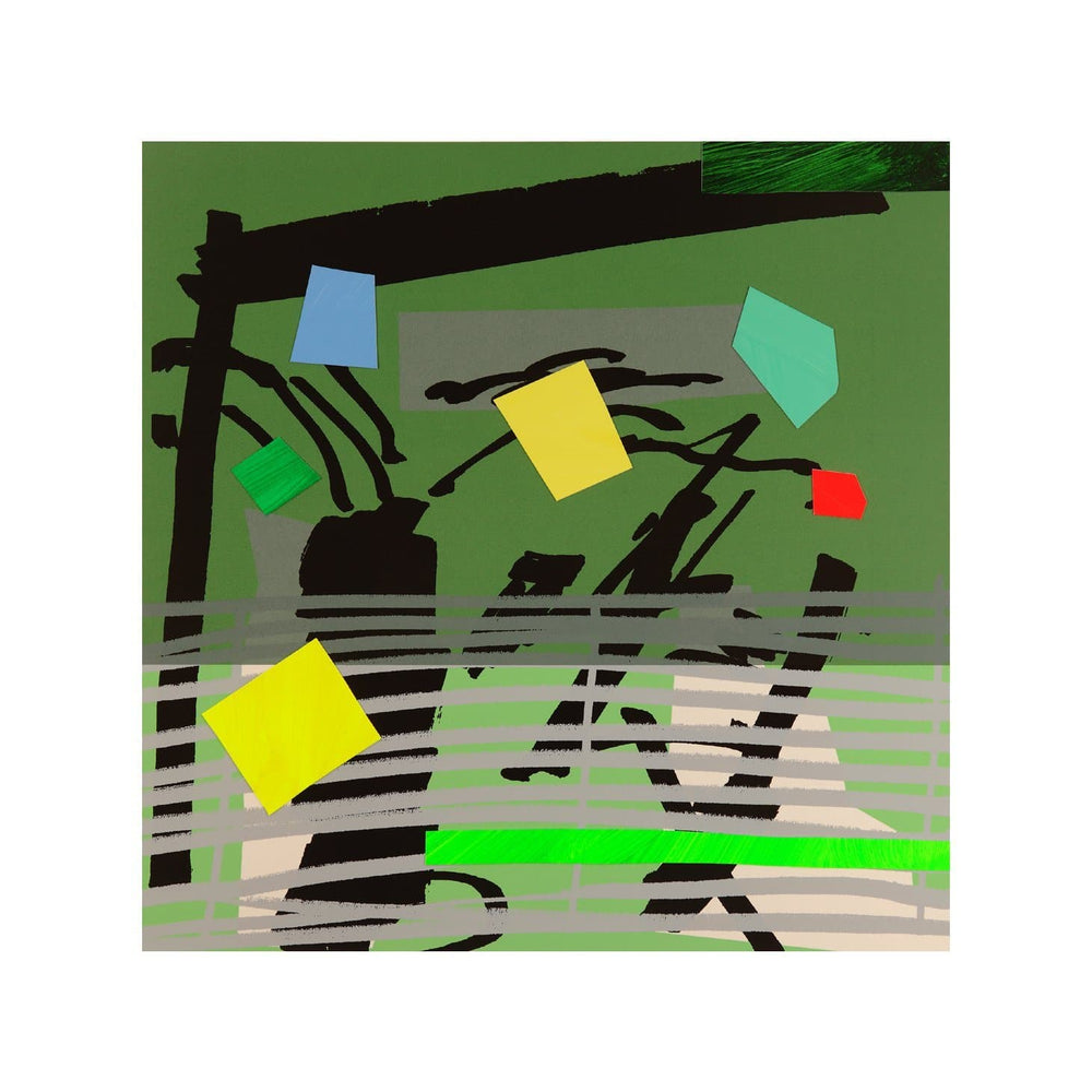 Grey Grow Green artwork by Bruce Mclean