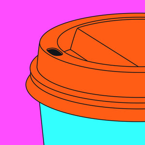 Coffee Cup artwork by Michael Craig-Martin