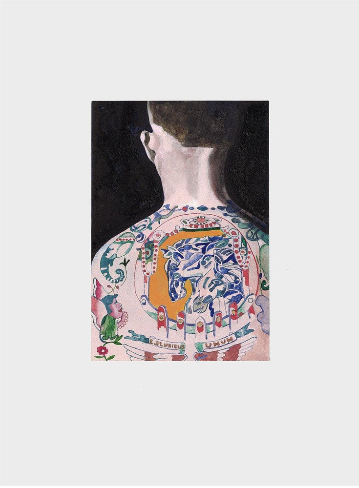 Tattooed People Max artwork by Peter Blake