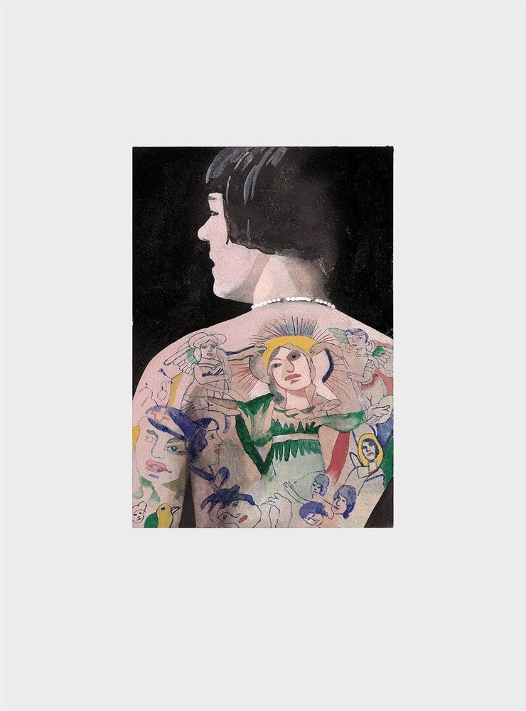 Tattooed People Betty artwork by Peter Blake