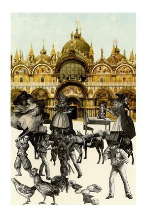 Venice Suite- An Altercation artwork by Peter Blake