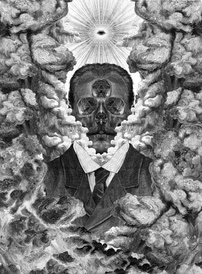 What Remains artwork by Dan Hillier