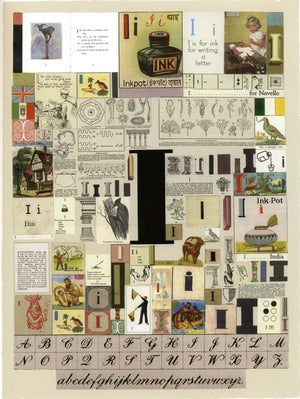 Alphabet : The Letter I artwork by Peter Blake