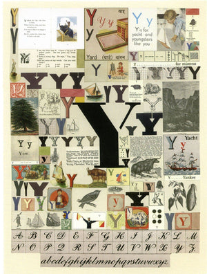 Alphabet: The Letter Y artwork by Peter Blake