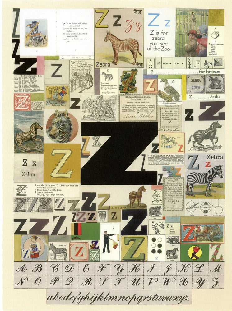 Alphabet: The Letter Z artwork by Peter Blake