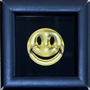 Mini Smiley Gold