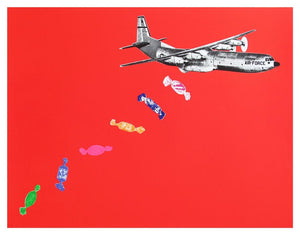 Candy Bomb Red artwork by Joe Webb