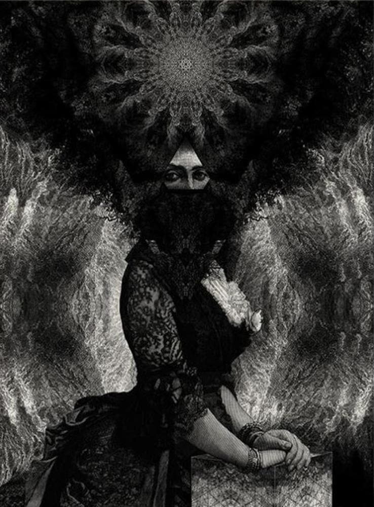 Priestess artwork by Dan Hillier