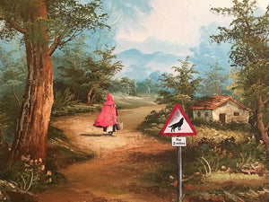 Little Red Riding Hood, Large artwork by Haus Of Lucy