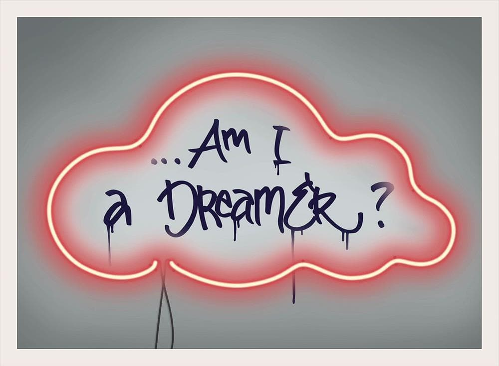 Am I a Dreamer artwork by Kid-B