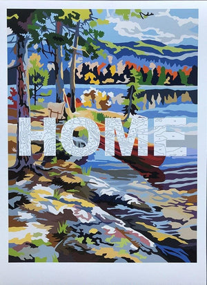 Home (Small) artwork by Benjamin Thomas Taylor