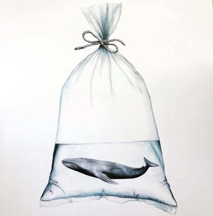 Baggage artwork by Louise McNaught