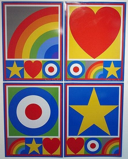 The Motif Suite artwork by Peter Blake