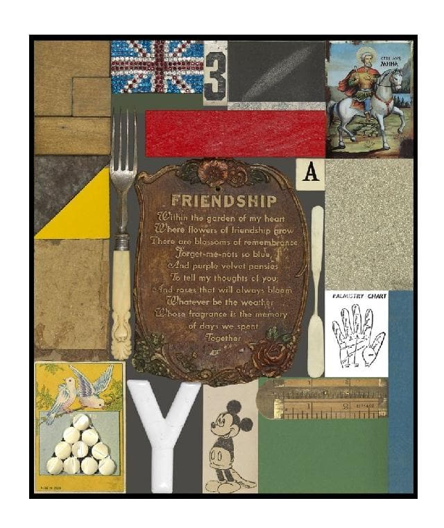 Wooden Puzzle Series, Friendship artwork by Peter Blake