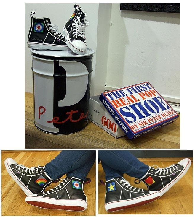 The Original Pop Shoe Size 36 artwork by Peter Blake