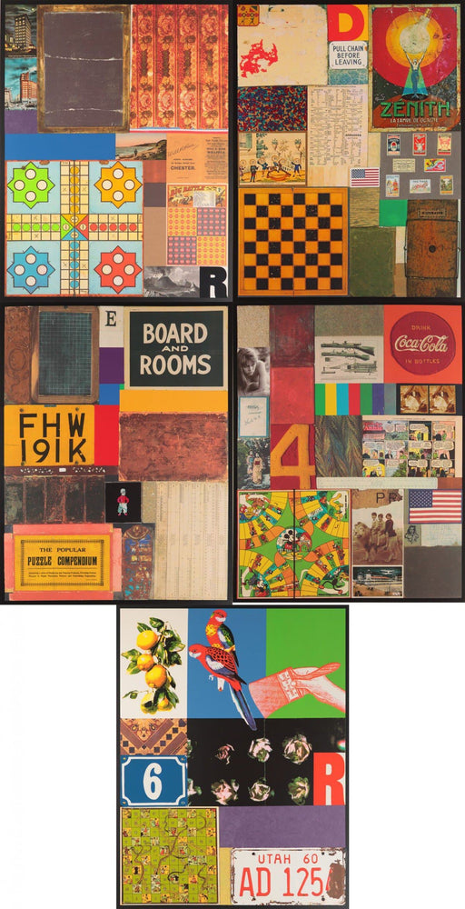 Homage To Rauschenberg Set by Peter Blake | Enter Gallery