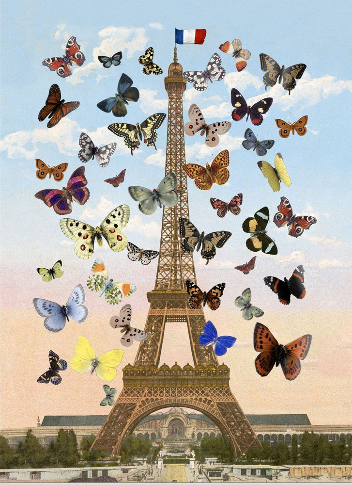 Eiffel Tower, Medium artwork by Peter Blake