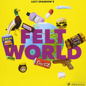 Felt World artwork by Lucy Sparrow
