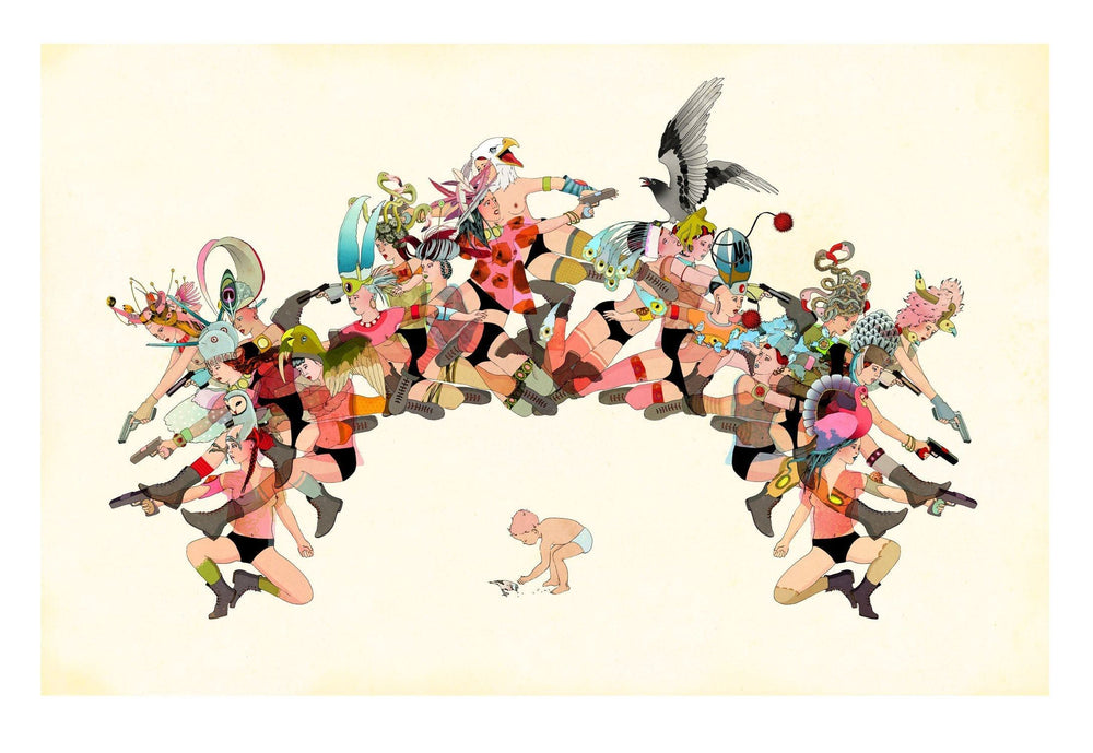 Arche artwork by Delphine Lebourgeois