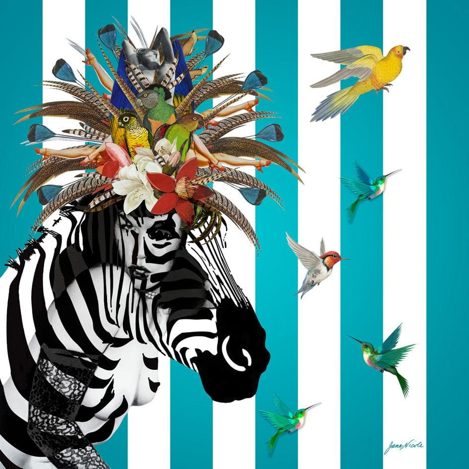 Animal Attraction: Betty artwork by JanaNicole