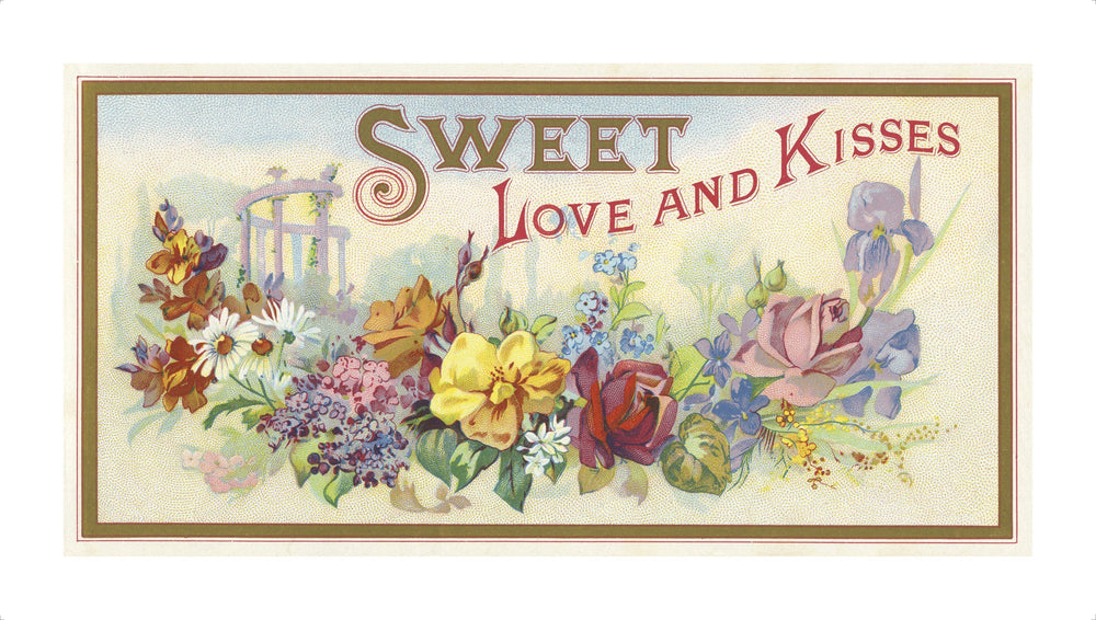 Sweet Love & Kisses artwork by Ethel Rose