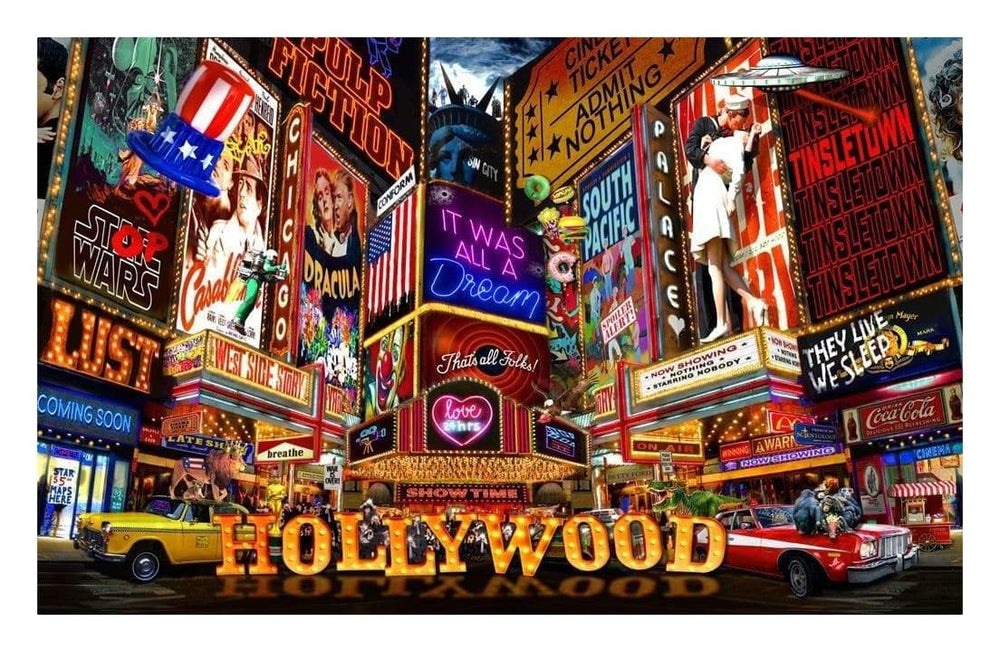 Hollywood Glamour artwork by Dirty Hans