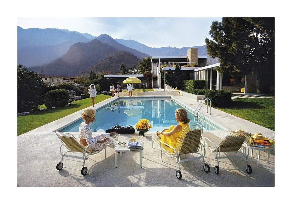 Poolside Glamour by Slim Aarons | Enter Gallery