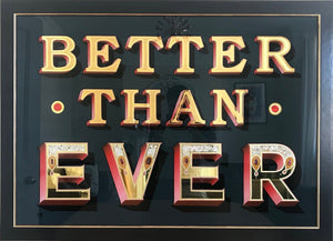 Better Than Ever artwork by Eddy Bennett