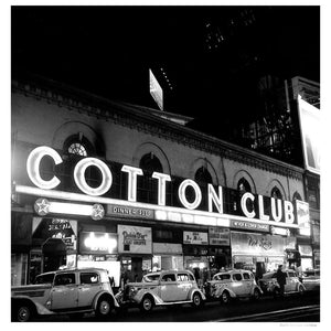 Cotton Club Marquee In NY artwork by Michael Ochs