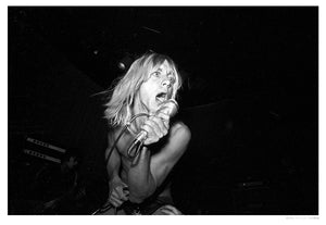 Iggy Pop Performing At The Whisky artwork by Michael Ochs