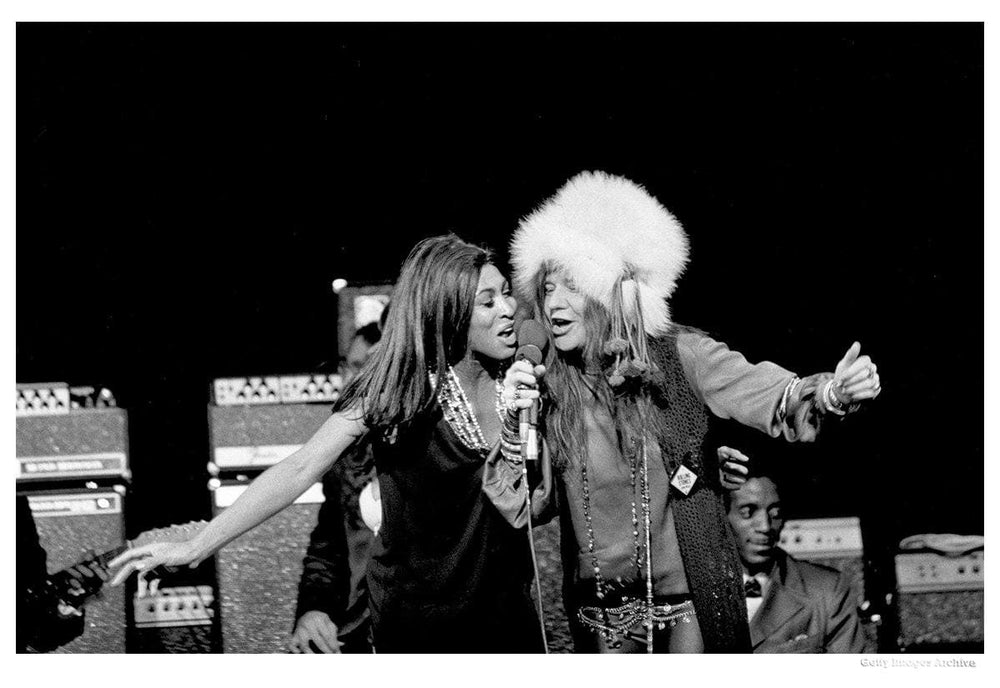 Janis & Tina Performing artwork by Michael Ochs