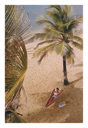 Caribe Hilton Beach by Slim Aarons | Enter Gallery