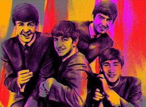 The Beatles Red, Large Canvas