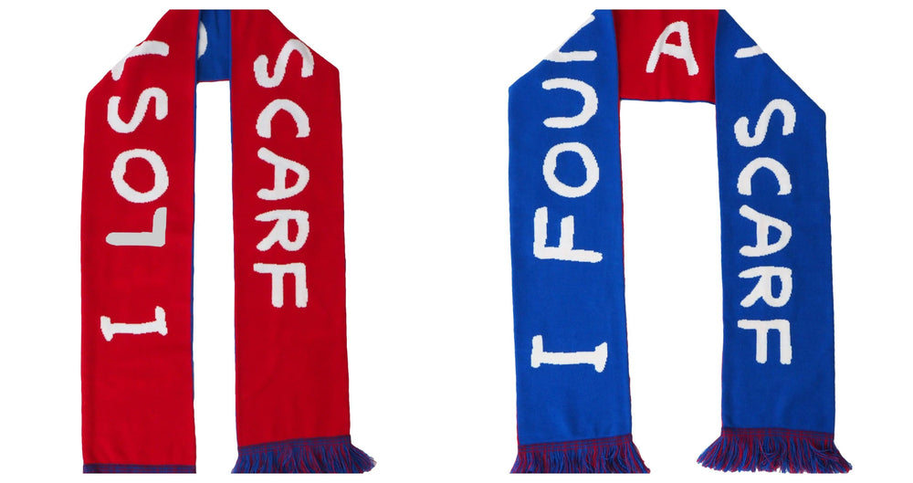 Lost a Scarf Found A Scarf by David Shrigley | Enter Gallery