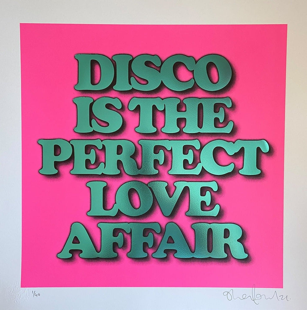 Disco Is The Perfect Love Affair, Pink