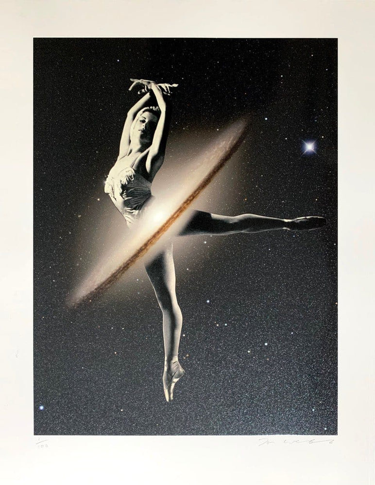 Galactic Dance artwork by Joe Webb