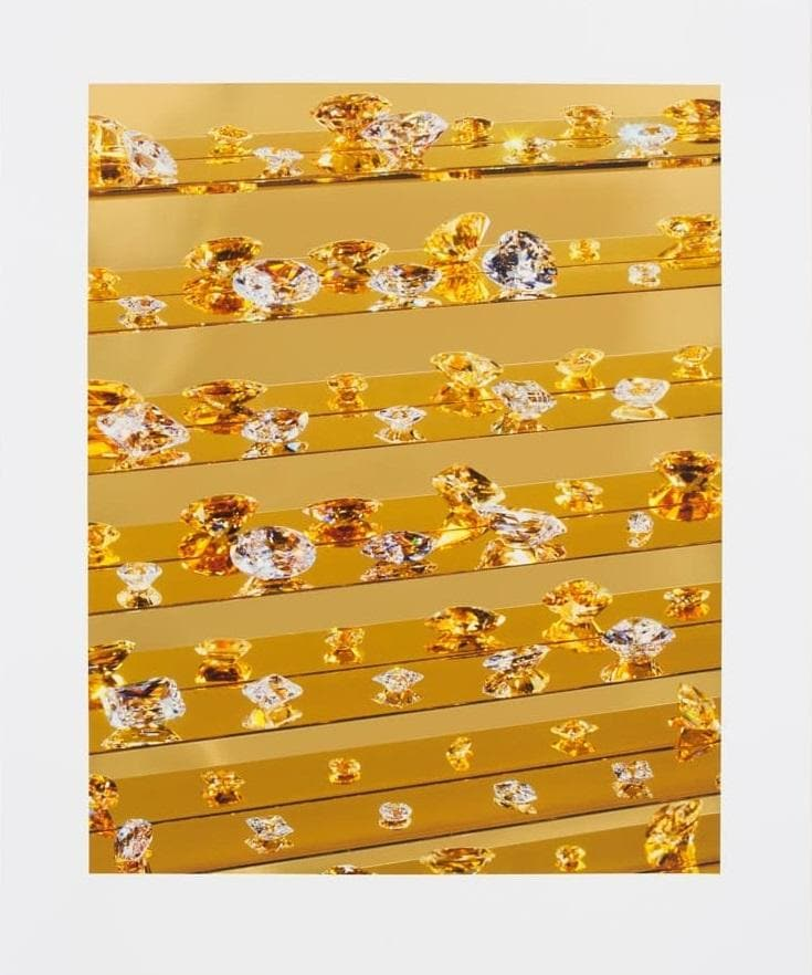 Gold Tears by Damien Hirst (2012) rare print | Enter Gallery