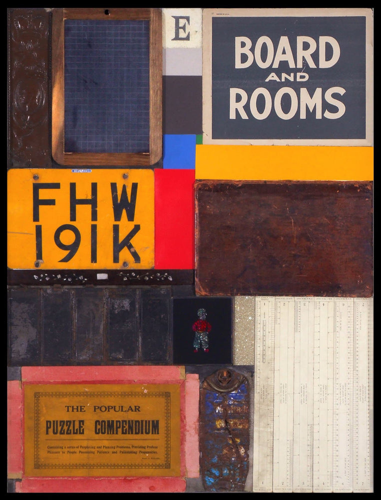 Homage to Rauschenberg III rare print by Peter Blake | Enter Gallery