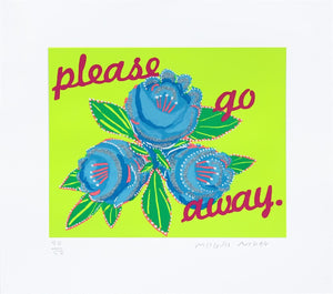 Please Go Away 2 artwork by Magda Archer