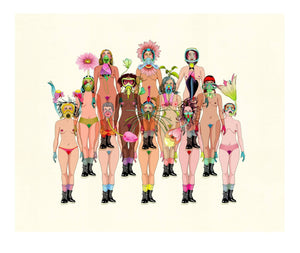 Spring Quarantine artwork by Delphine Lebourgeois