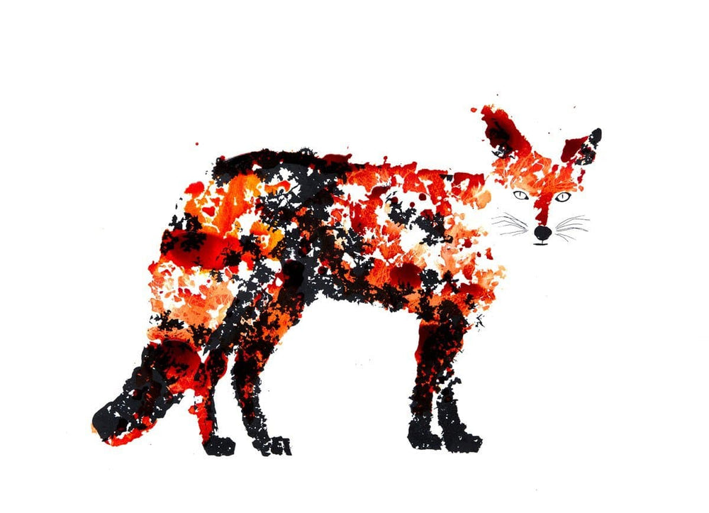 The Fox artwork by Rob Wass