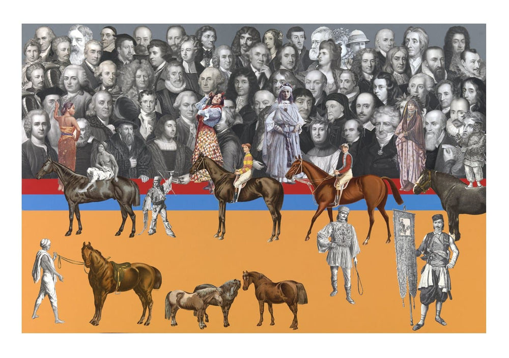 Circus art print by Peter Blake | Enter Gallery