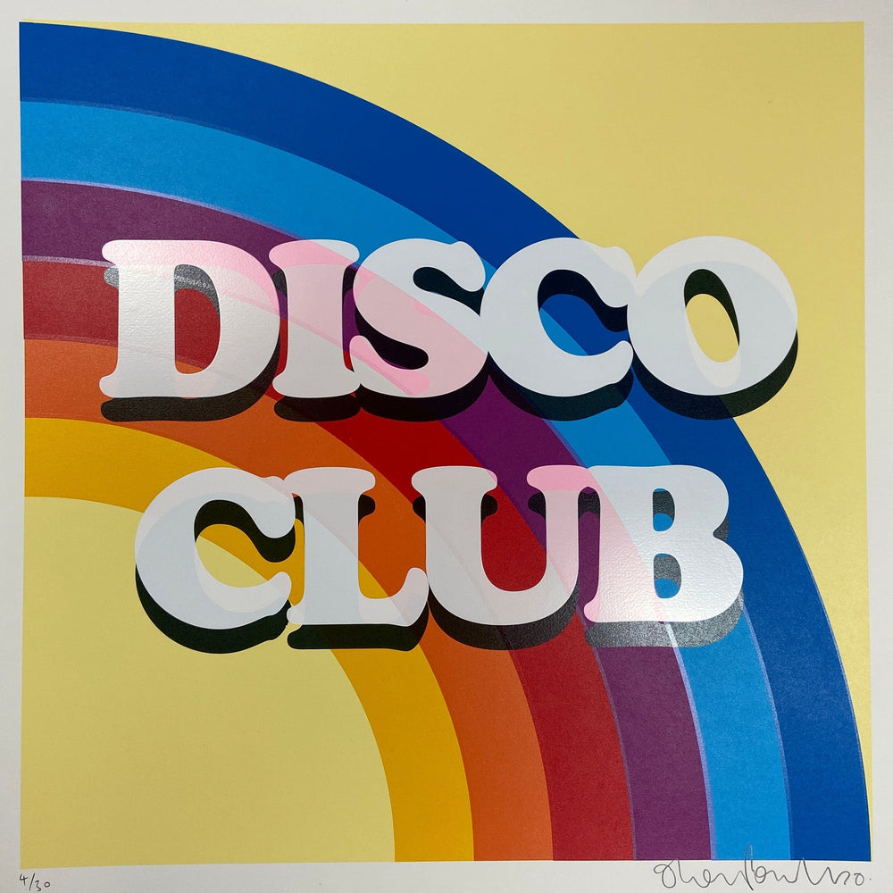 Disco Club artwork by Oli Fowler