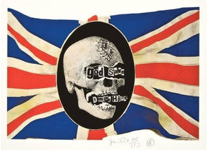 God Save Damien Hirst 2009 by Jamie Reid | Enter Gallery