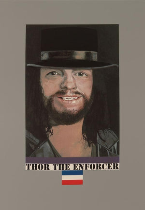 Thor The Enforcer artwork by Peter Blake