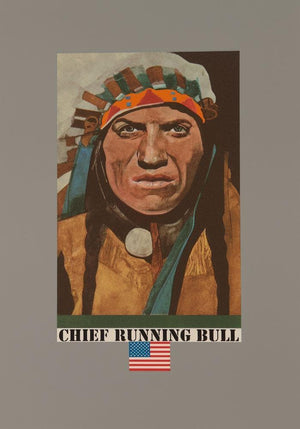 Chief Running Bull artwork by Peter Blake