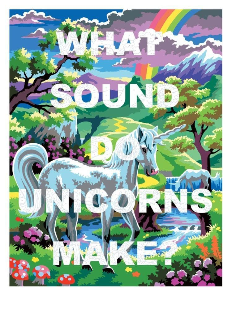 What Sound Do Unicorns Make? artwork by Benjamin Thomas Taylor